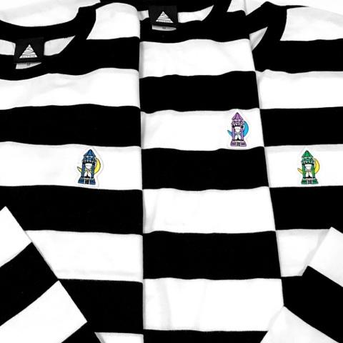 SUNADOKEI BORDER Long T-shirt