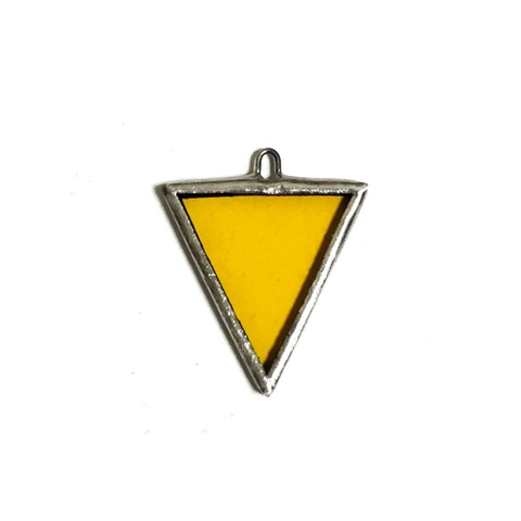 【10.12②】Clear Yellow TRIANGLR