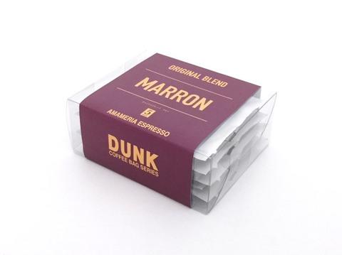 ダンクコーヒーバッグ ブレンド・マロン(5個パック)