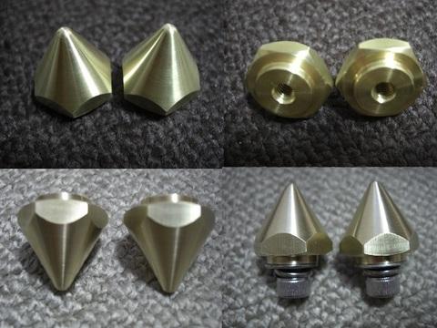 ブラス(真鍮)製スパイクナット