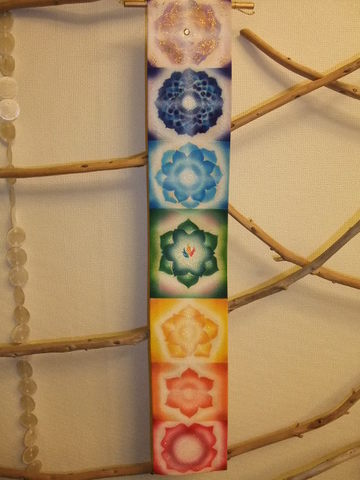 チャクラ タペストリー  (ミニ)  Chakra Tapestry