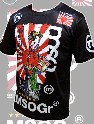 musou gear x a-pop Geisha T-shirt / Half sleeve