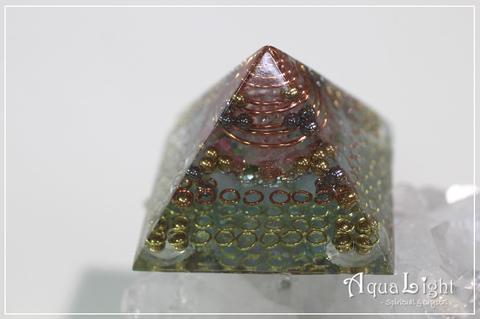 Healing Pyramid watermelon color