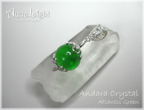 Andara Crystal - Atlantis Green -