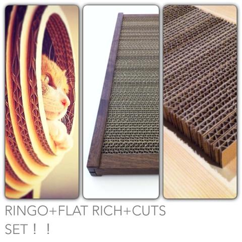 RINGO+FLAT RICH+CUTS