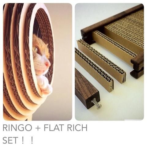 RINGO + FLAT RICH