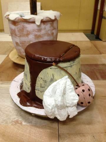 プリンの椅子/Pudding Stool