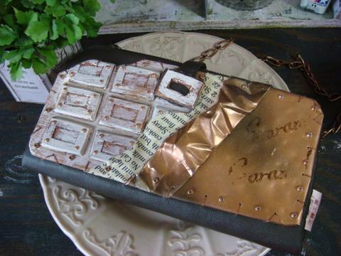 板チョコの財布/Chocolate bar Wallet