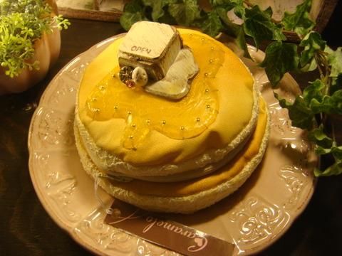 パンケーキのポーチ プレーン/Pancake Pouch Plane