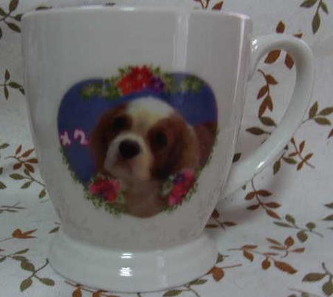 飾り用マグカップ(写真入り カラー)