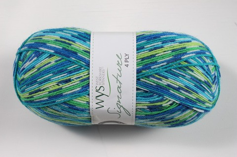 WYS 4 Ply Peacock 851