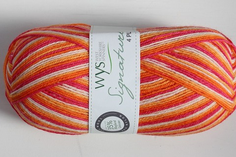 WYS 4Ply Tequila Sunrise 856