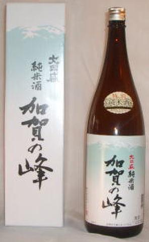 【純米酒】加賀の峰(1800ml)