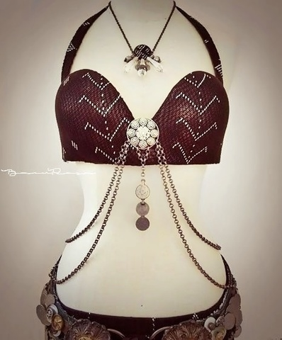 Assuit bra DIY*Brown
