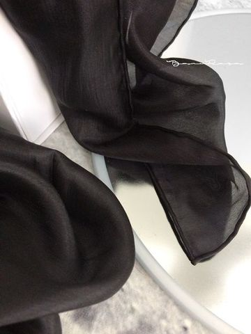 5mm Silk Veil -obsidian