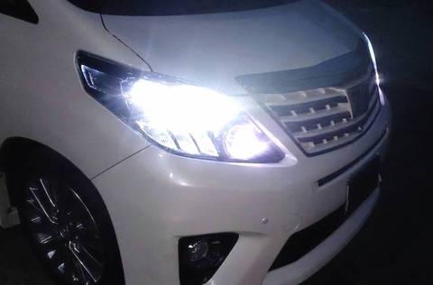20系アルファード/ヴェルファイア/LEDハイビームライト/PRO ETI LED/3000lm (6000K)