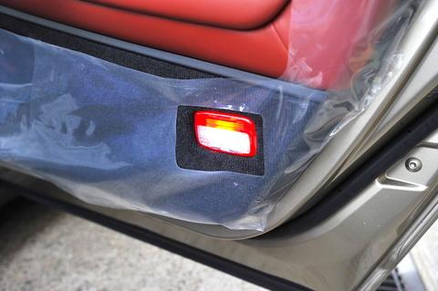 NISSAN GT-R 専用 POWER COB LEDドアカーテシランプ/GTR R35(2015〜)