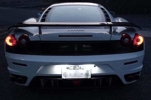 Ferrari F430/LED(SMD2835)ライセンスランプ(ナンバー灯)