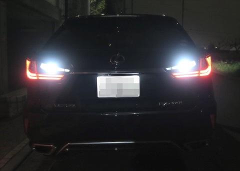 LEXUS RX450h / RX200t 爆光サムスン3528(SMD) バックランプ!! GYL2#/AGL2#