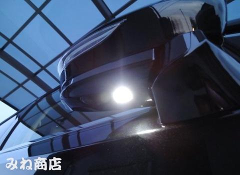 最新 21系マジェスタ LED(SMD5050)ドアミラーウエルカムランプ!! GWS214
