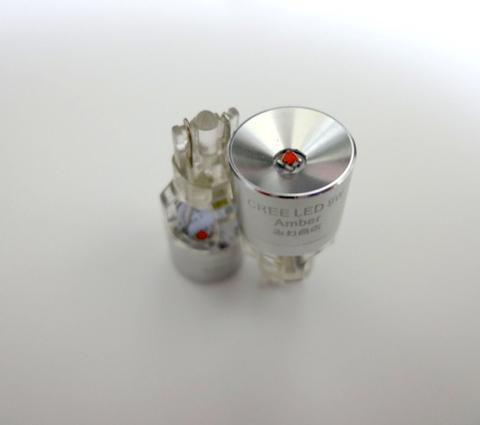 ハイルーメン米国 CREE XBD LED(by Reflector)T16/アンバー(橙)
