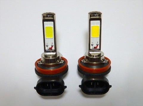 レクサスCT(前期/後期)LEDフォグランプ/POWER COB LED/クローム加工(ホワイト・イエロー)LEXUS CT200h