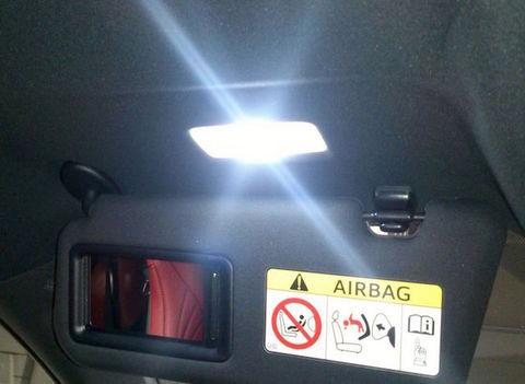 LEXUS RC350/300h/200t/F専用 LED(SMD)バニティランプ!! AVC10/GSC10/ASC10/USC10