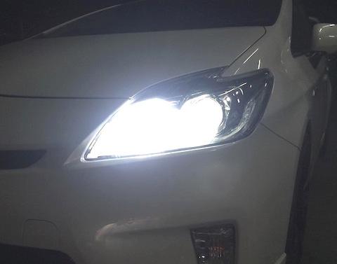 30プリウス/ZVW30 前期・後期/LEDハイビームライト/PRO ETI LED/3000lm(6000K)