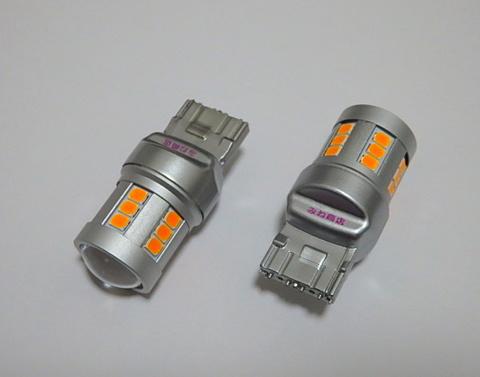 T20/7440(シングル)Epistar 2835 LED/橙アンバー