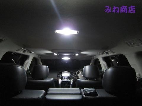 ランクル200 専用!! High Lumen ルームランプセット(中期)ZX (リアエンタ用)