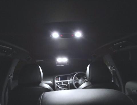アウディA4/LED (COB & SMD) ルームランプセット/AUDI A4/S4 8K (B8)/アバント