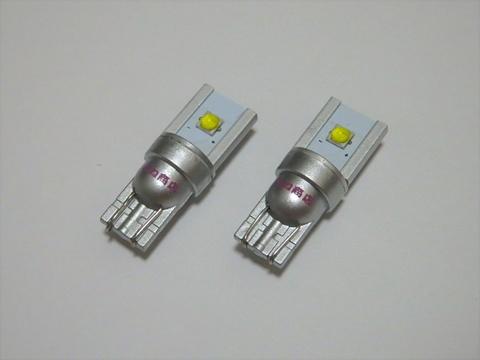 T10 /球切れ警告灯キャンセラー内蔵 LED/5W MA3-9 LED/12V車用/2個セット
