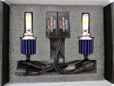 LEDフォグランプ/HIGH LUMEN POWER COB LED FOG LAMP KIT/2200lm (6000K) HB4 (9006)
