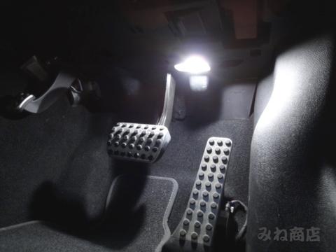 メルセデスベンツ Eクラス W212 前期・後期/LEDフロント&リアフットランプ/Benz-E/W212 前期・後期