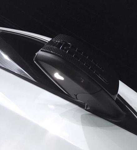 メルセデスベンツ CLA45 AMGシューティングブレーク/LEDドアミラーウエルカムランプ(サイドミラー) Benz-CLA45 AMG
