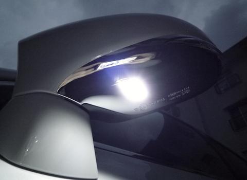 レクサスGS10系(前期/後期)LEDドアミラーウエルカムランプ/LEXUS GS10/GSF