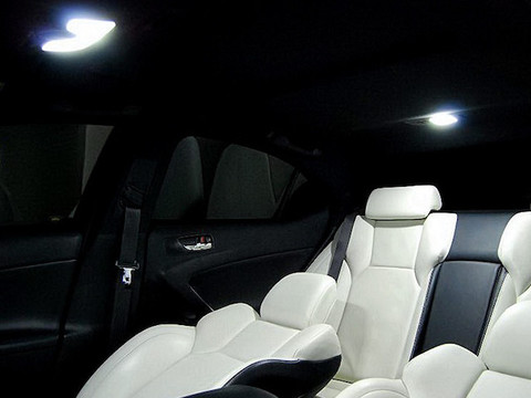 LEXUS IS/ISF 専用 Chip On Board LED ルームランプセット GSE2# / USE20