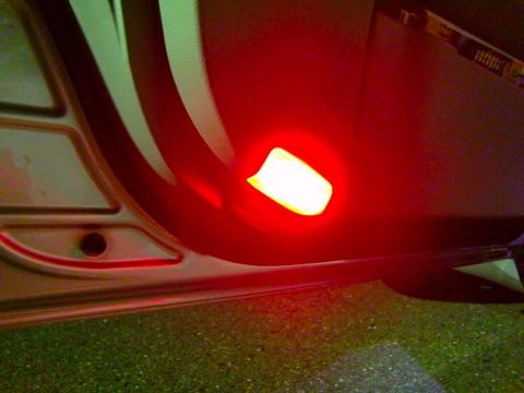 LEXUS IS/ISC/ISF 専用 LED(COB) ドアカーテシランプ/GSE2# / USE20