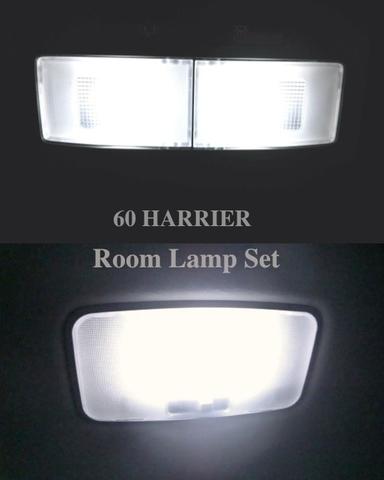 60系ハリアー SMD5050フロント&リアルームランプ!! 60 HARRIER/AVU65・ZSU6#