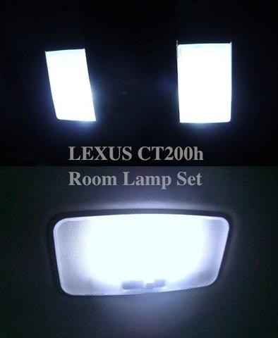 レクサス/LED(SMD)ルームランプセット/LEXUS CT200h/ZWA10