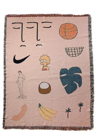 "bfgf - ""World Wide Aura"" blanket"
