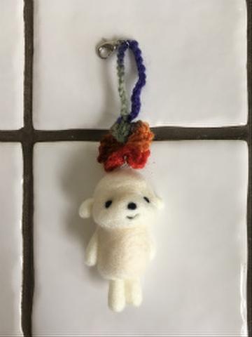 羊毛チャーム(カラフルB)