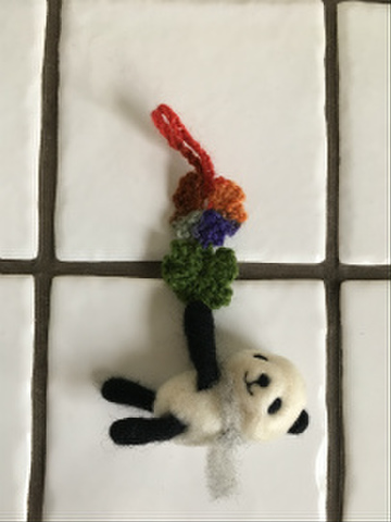 動物チャーム(パンダさん)