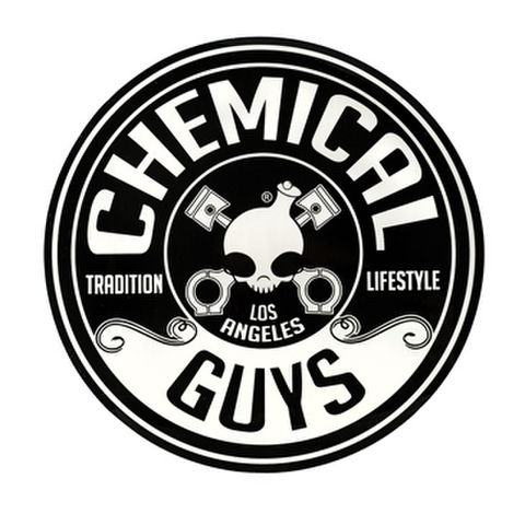 "chemical GUYS LOGO STICKER CIRCLE (5"")"