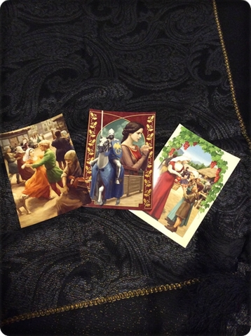 ポストカードセット<medieval festa>