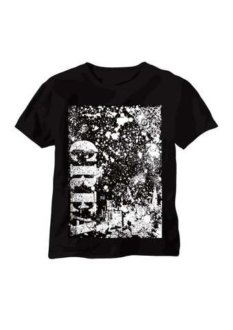 CREAオリジナル★Dark Splash T-shirt