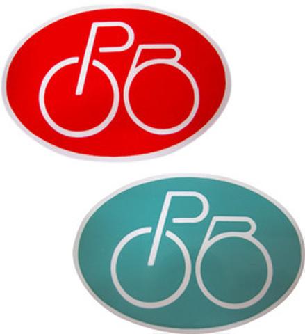 自転車管理シール(50枚)
