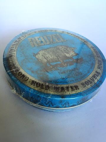 【入荷待】オランダ発のルーゾーポマードのブルー。<水性: ハード>/ルーゾー/ストロングホールドポマード113g