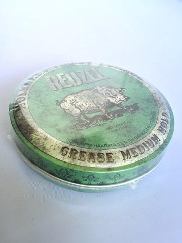 オランダ発のルーゾーポマードのグリーン。<油性: ミディアム>/ルーゾー/グリースポマード113g