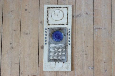 *レア*Rorstrand(ロールストランド)Sylvia Leuchovius 男の子の陶板